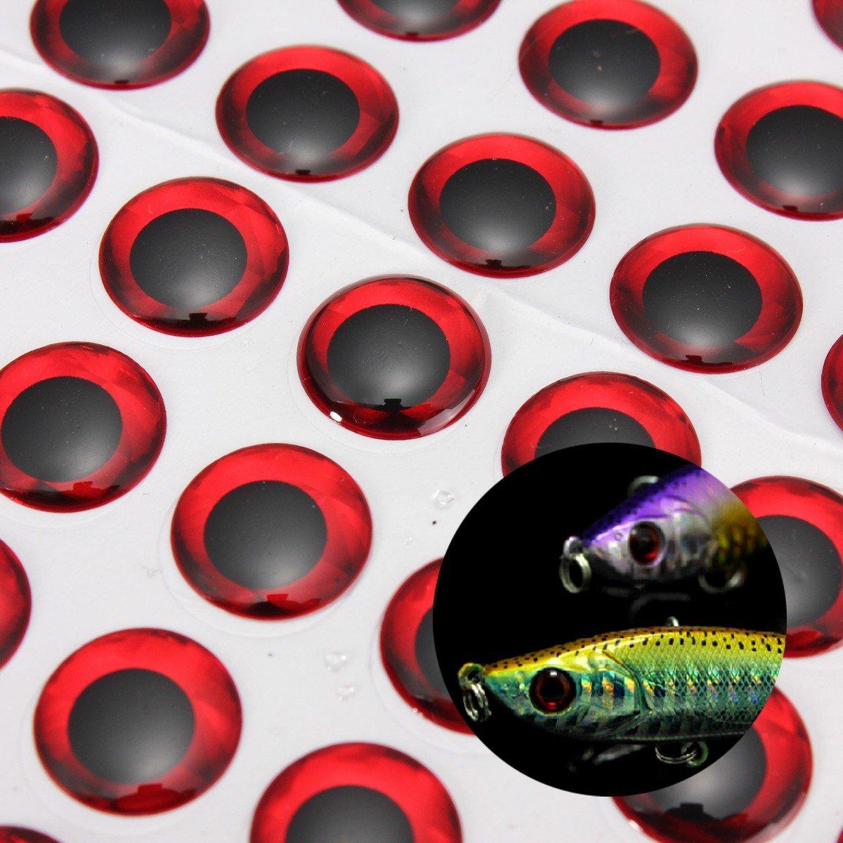kenthia 100個6 mmレッド/シルバー3d Holographic釣りルアーEyes レッド Fly TyingジグCrafts疑似餌 レッド Fly 100個6 B07473CFLQ, 旨いもんハンター:f3c1981b --- hasznalttraktor.e-tarhely.info