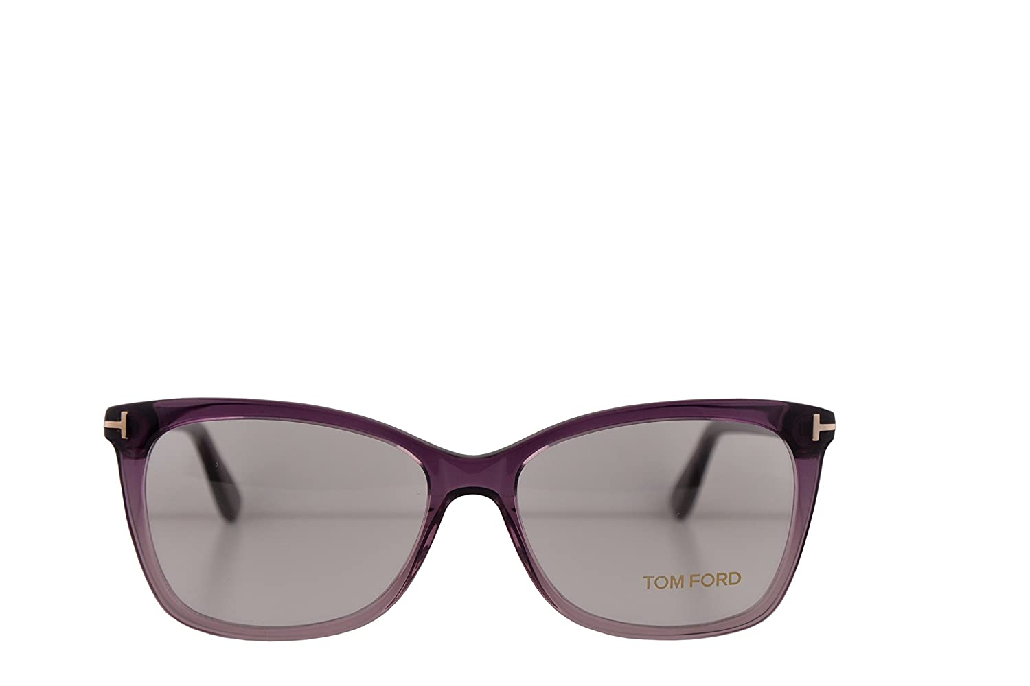 c0a2403b39d1 Amazon.com  Tom Ford FT5514 Eyeglasses 54-15-140 Violet w Demo Clear Lens 083  TF5514 TF 5514 FT 5514  Clothing
