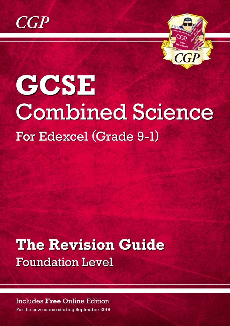 New Grade 9-1 GCSE Combined Science: Edexcel Revision Guide with Online  Edition - Foundation (CGP GCSE Combined Science 9-1 Revision):  Amazon.co.uk: CGP ...