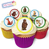 Holly Cupcakes 24 Fabulous Pre-Cut Edible Wafer Cake Toppers: The Gruffalo
