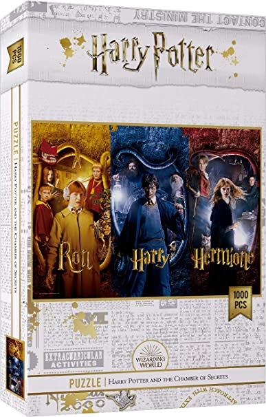 HARRY POTTER Puzzle Harry, Ron and Hermione Names Official ...