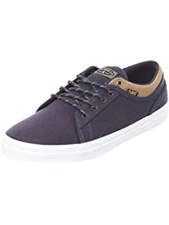 DVS Celsius CT, Chaussures de Skateboard Homme, Gris (Charcoal Grey Black Nubuck Deegan), 44 EU
