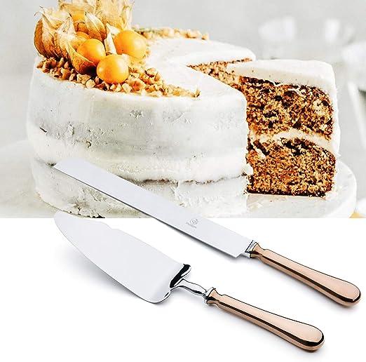 Terrific Amazon Com Otw Pavilion 2 Piece Wedding Cake Server Set Silver Funny Birthday Cards Online Benoljebrpdamsfinfo