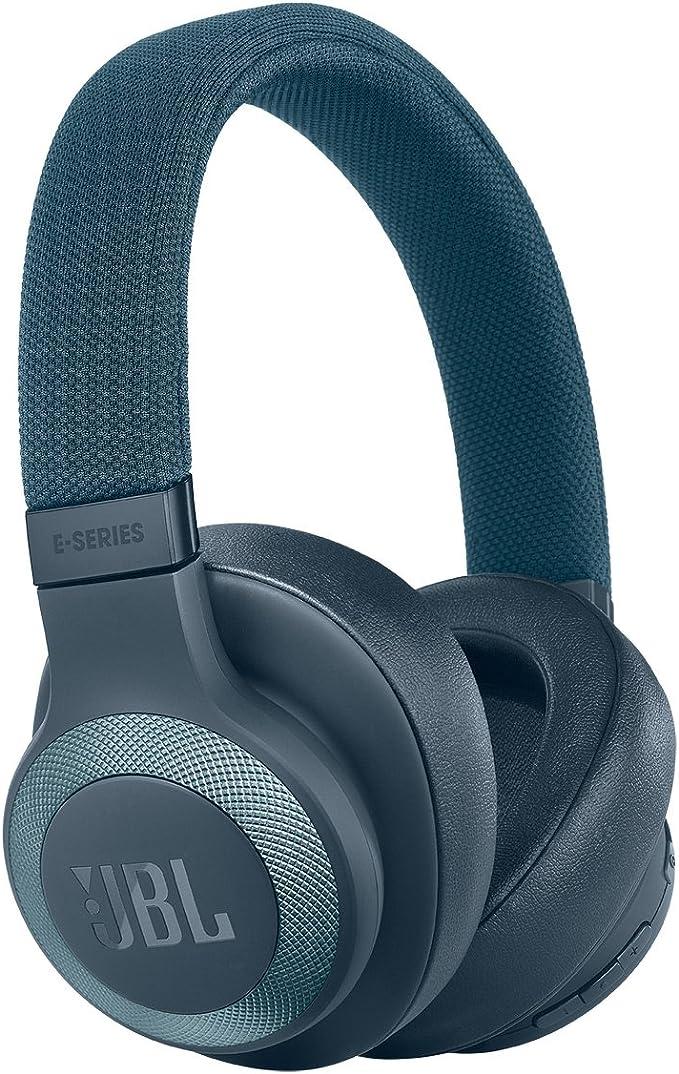 Amazon.com: JBL E65BTNC Blue Wireless Over-Ear Noise Cancelling Headphones: Electronics