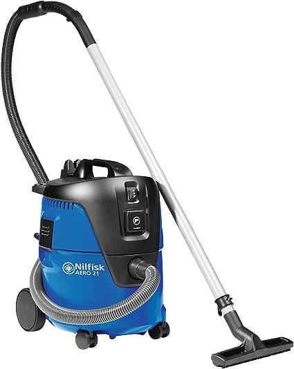 Nilfisk 107406601 - Aspiradora de trineo, 1250 W, color negro y azul: Amazon.es: Hogar