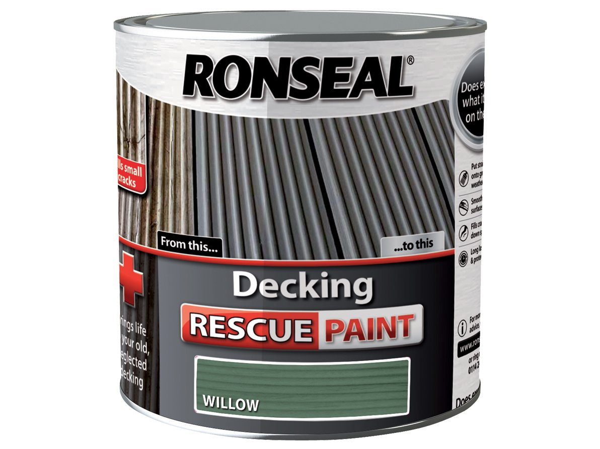 Ronseal drpw25l 25 litre decking rescue paint willow amazon ronseal drpw25l 25 litre decking rescue paint willow amazon diy tools baanklon Image collections