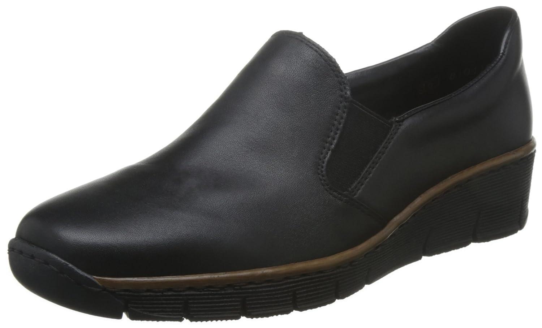 Rieker Melgar Womens Casual Shoes B01CHC1ORG 36 M EU|Black
