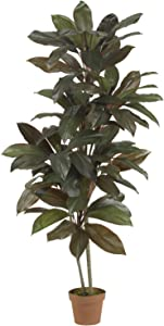 Nearly Natural 6580 Cordyline Silk Plant Real Touch, 5-Feet, Green