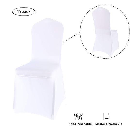 Amazon.com: Monrise - Fundas elásticas plegables para sillas ...