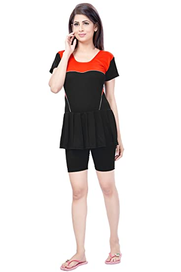 95fbdb3b15 Fashion Fever One Piece Swim Suits for Women: Amazon.in: Clothing ...