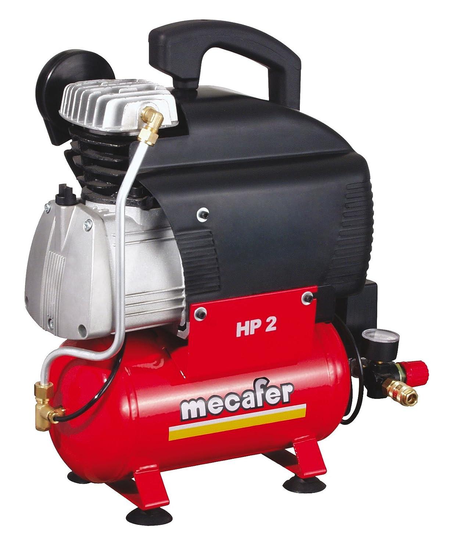 Mecafer Vento - Compresor de aire (1500 vatios) color Rojo: Amazon.es: Bricolaje y herramientas