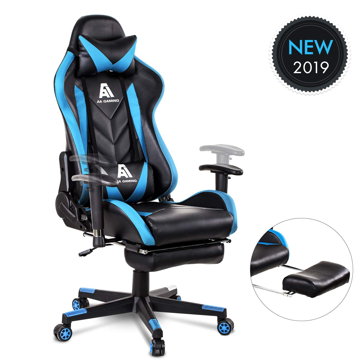 Strange Details About Big And Tall Gaming Computer Chair Desk Racing Office High Back Ergonomic 300 Lb Ibusinesslaw Wood Chair Design Ideas Ibusinesslaworg