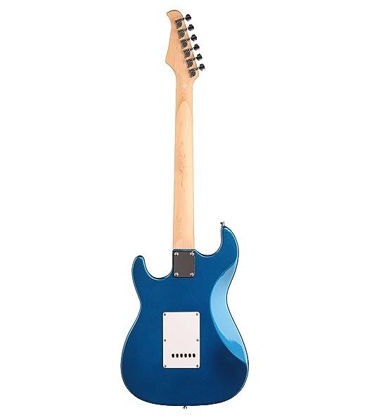 Silvertone cita paquete de guitarra eléctrica y amplificador: Amazon.es: Instrumentos musicales
