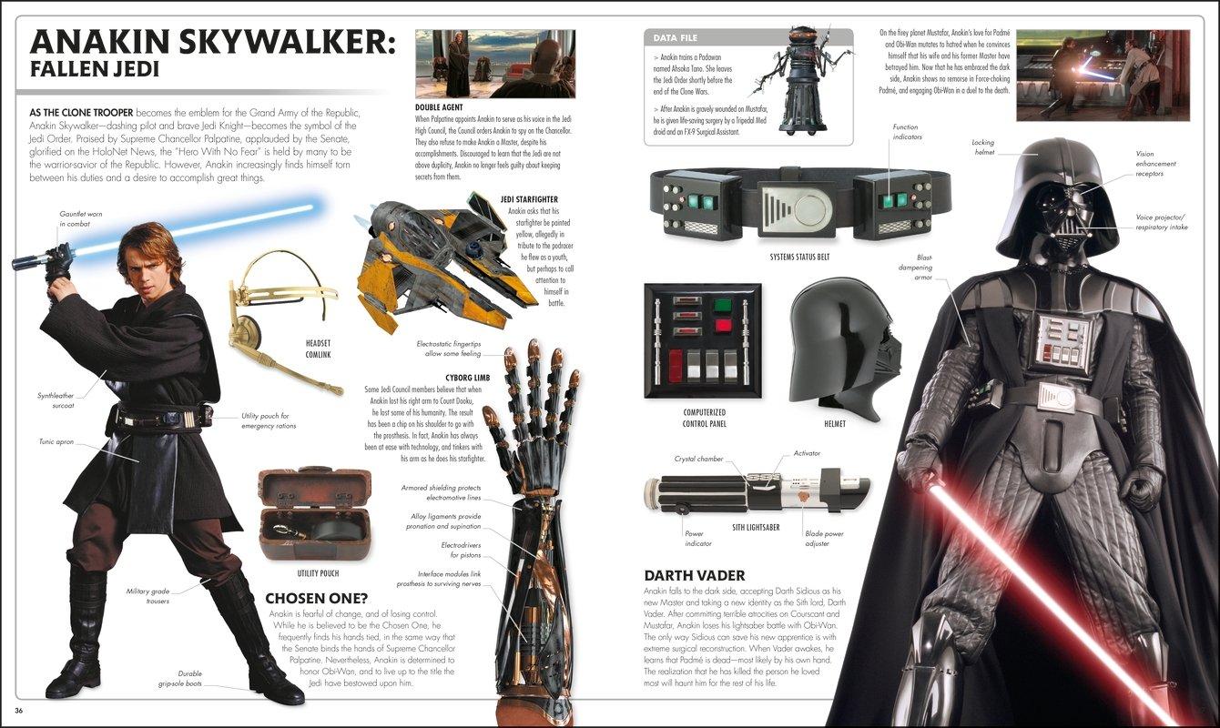 Amazon Com Star Wars The Complete Visual Dictionary New Edition 9781465475473 Hidalgo Pablo Reynolds David Books