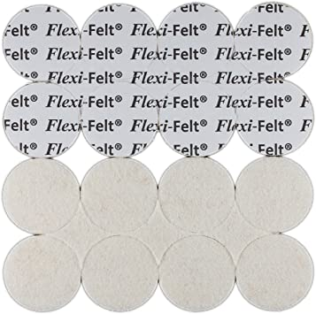 40 Hand-cut quality felt pads Alcohol Ink Felt Replacement Pads