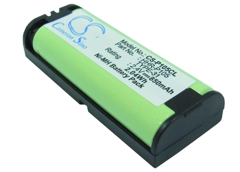 バッテリーfor Avaya kx-tg2622 W、kxtg2631、kx-tg2631、kxtg2631 W、kx-tg2631 W、kxtg2632 ( 850 mAh ) B013KOW78K