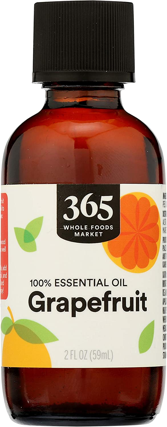 365 by Whole Foods Market, Aromatherapy 100% Essential Oil, Grapefruit, 2 Fl Oz