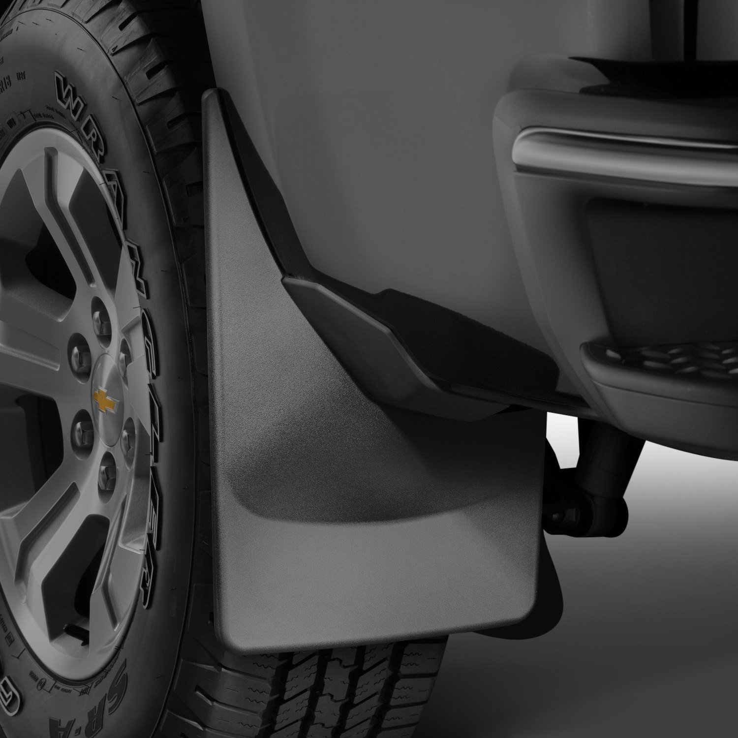 All Weather Weathertech Custom MudFlaps for Ford F-250/F-350 Super Duty 2017-2019 Full Set