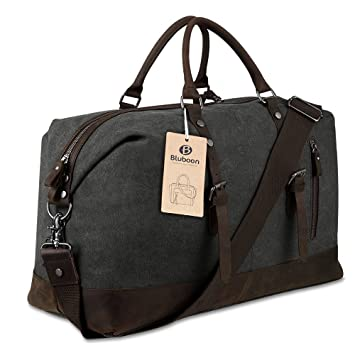 Large Holdall Duffle Bag Weekend Bags Leather for Mens and Womens ...