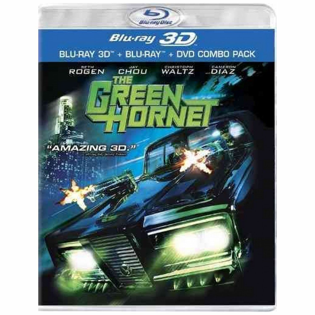 Blu-ray 3D : The Green Hornet (With Blu-Ray, With DVD, Widescreen, , Dubbed)