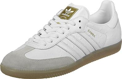 adidas Women s Samba W Sneakers White Size  3.5 UK 01fdbba4a18