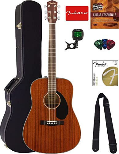 Fender CD-60S Solid Top Dreadnought Acoustic Guitar