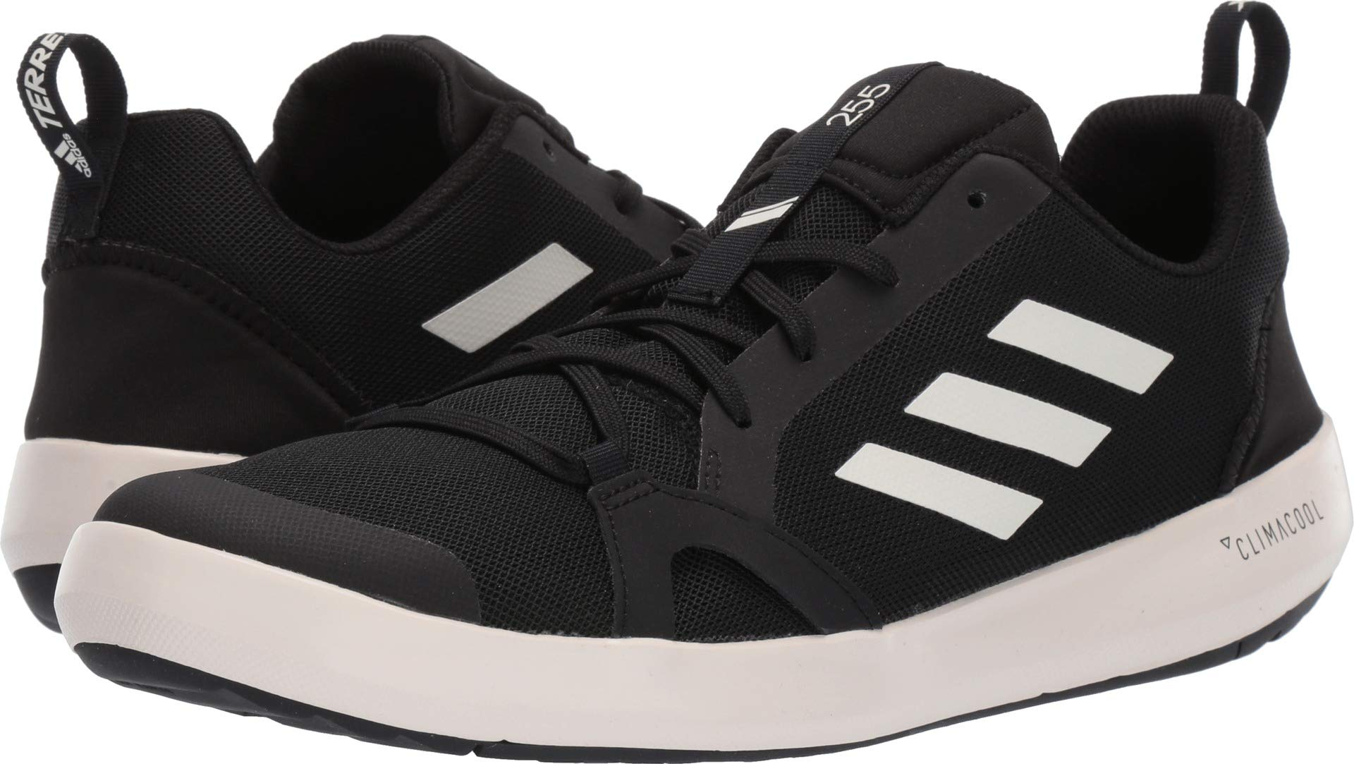 adidas outdoor Terrex CC Boat Water Shoe - Men's Black/Chalk White/Black, 7.5