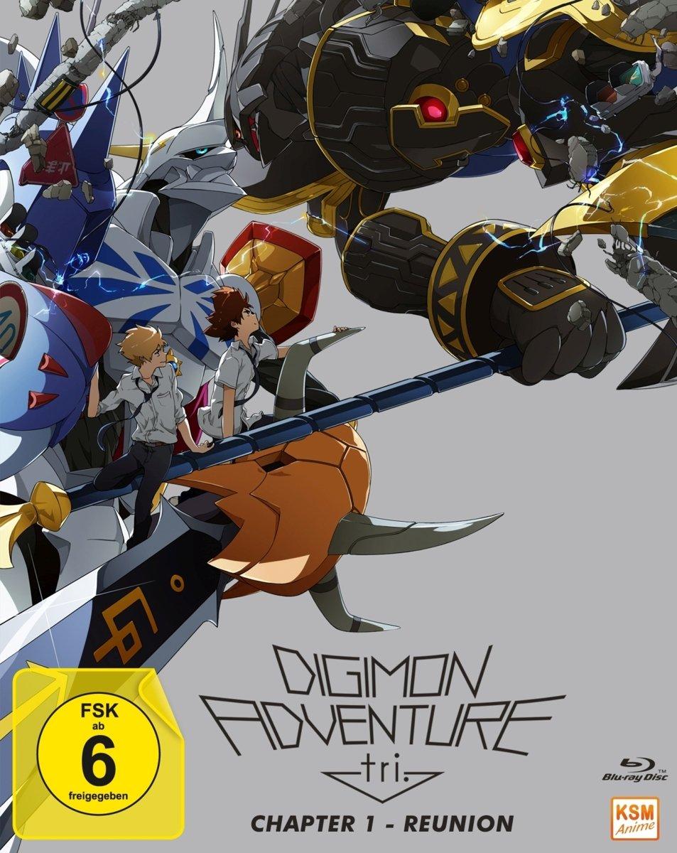 Digimon Adventure tri. Chapter 1 - Reunion [Blu-ray]: Amazon.de ...