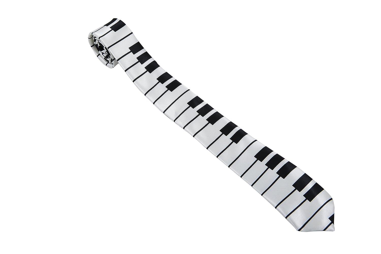 Corbata para Hombre Piano Blanco (Ti49): Amazon.es: Ropa y accesorios