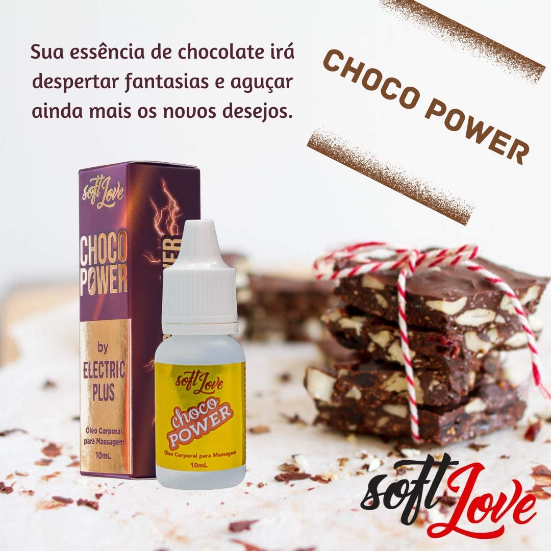 Choco Power Oleo Para Massagem 10ml Soft Love Amazon Com Br