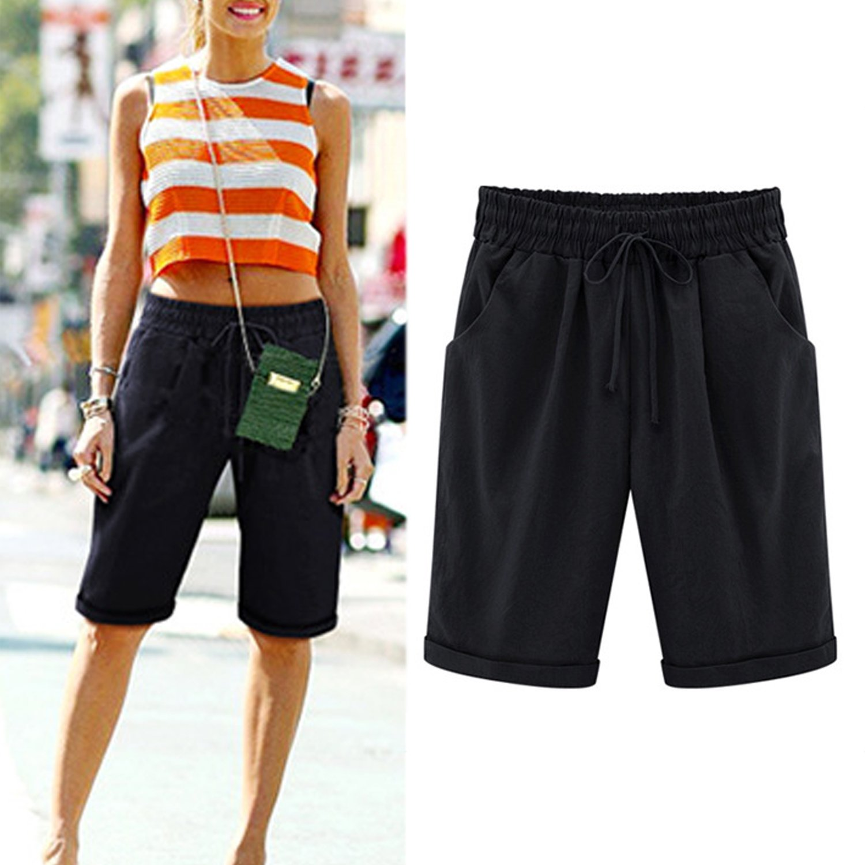 Laemilia Femme Courte Casual Eté Shorts Grande Pantalon Taille XkiOPZu