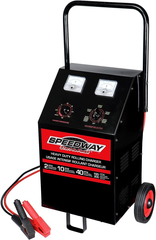 Speedway Heavy Duty 6/12 Volt Roll Around Charger