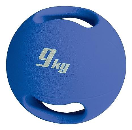 Sport-Thieme Balón medicinal con asas, 9 kg: Amazon.es: Deportes y ...
