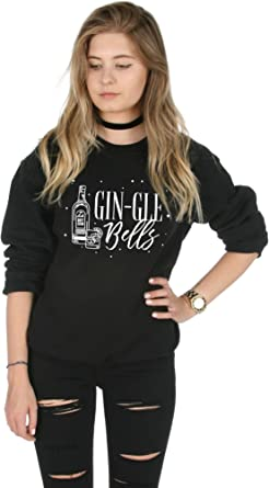 Gin-gle Bells Top Christmas Xmas Funny Festive Gin Jingle T-Shirt Sanfran