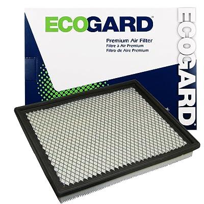 ECOGARD XA4727 Premium Engine Air Filter Fits Nissan Frontier 4.0L 2005-2020, Titan 5.6L 2004-2015, Pathfinder 4.0L 2005-2012, Xterra 4.0L 2005-2015, Armada 5.6L 2005-2015, NV2500 4.0L 2012-2020: Automotive