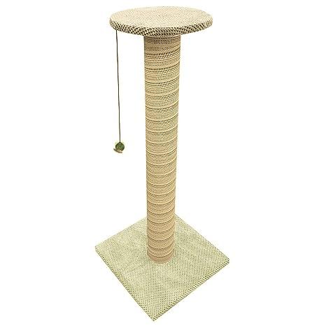 100 cm de altura gigante gato rascador poste árbol juego gato grande escalada centro divertido poste