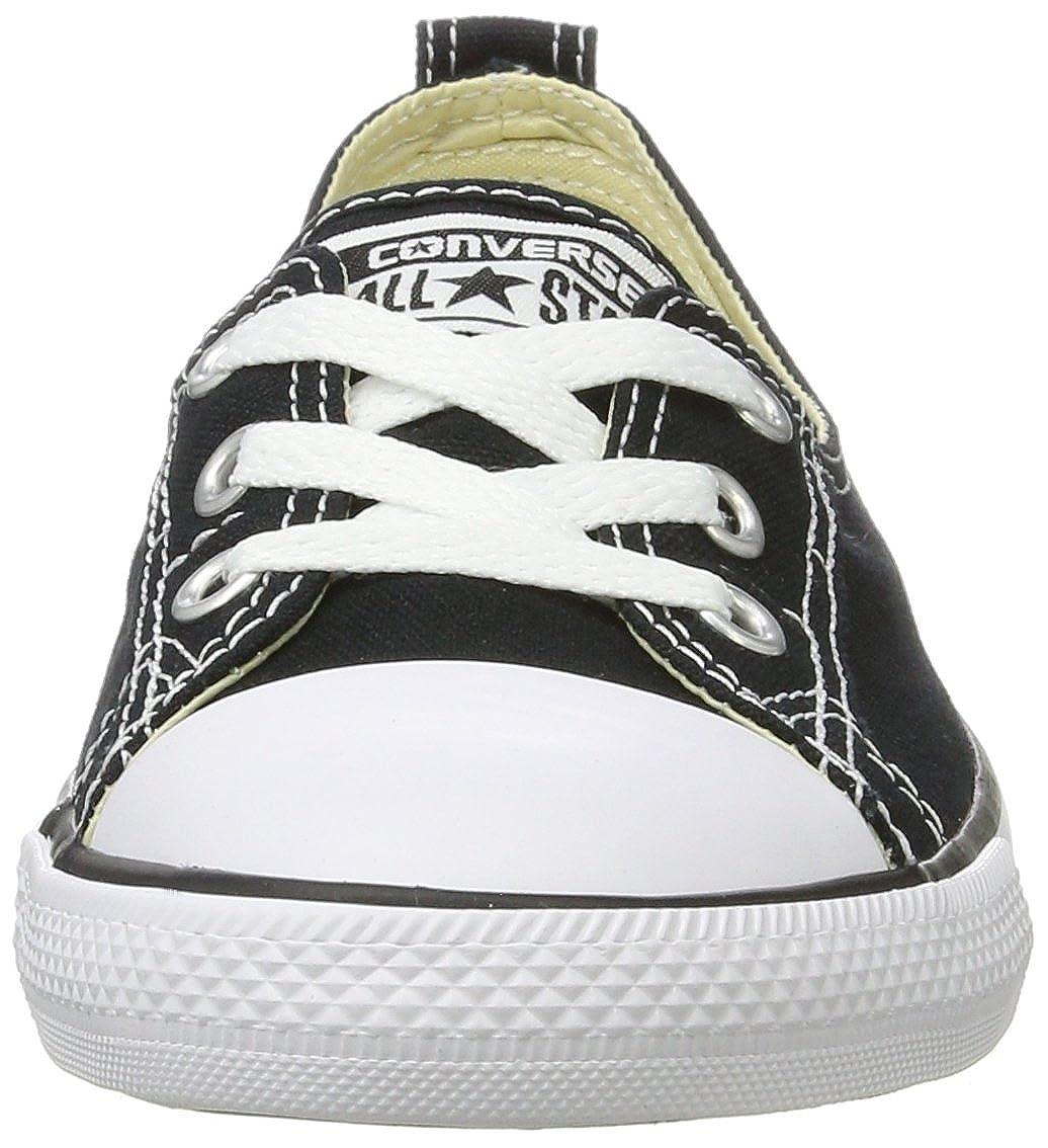 Converse Pantofole Chuck Taylor Ballet Lace, Pantofole Converse Donna Nero 4ffe19