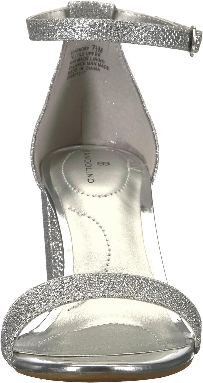 Bandolino Armory Dress, Sandalias para Mujer Plateado