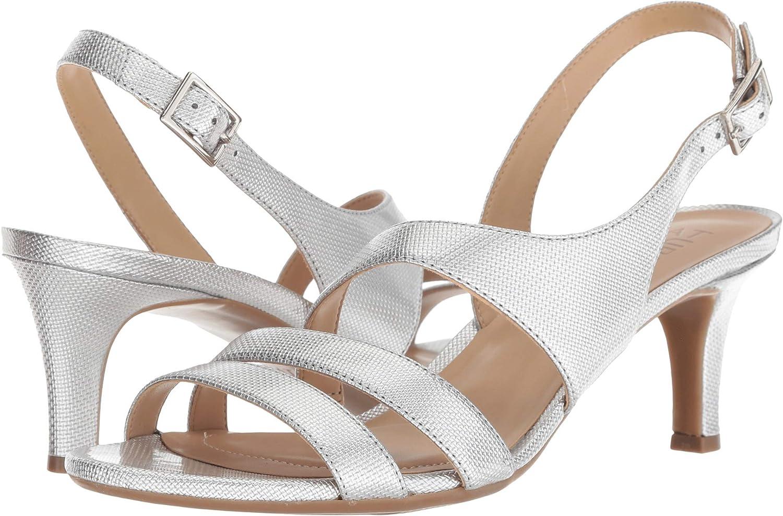 Silver Pearl Grid Naturalizer Women's Taimi Dress Sandal