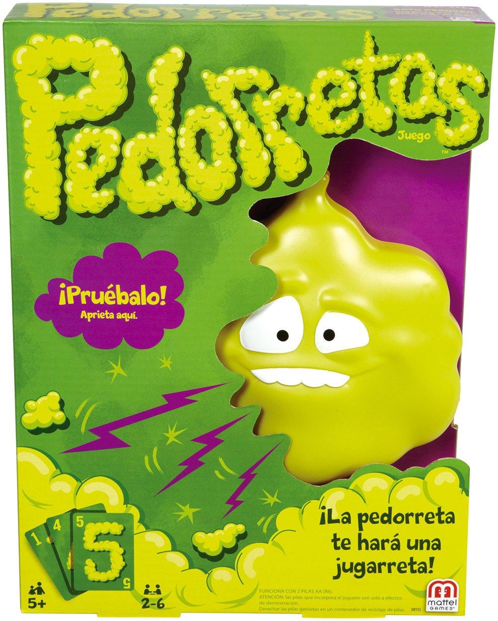 Mattel Games - Pedorretas, Juegos de Mesa Para Niños
