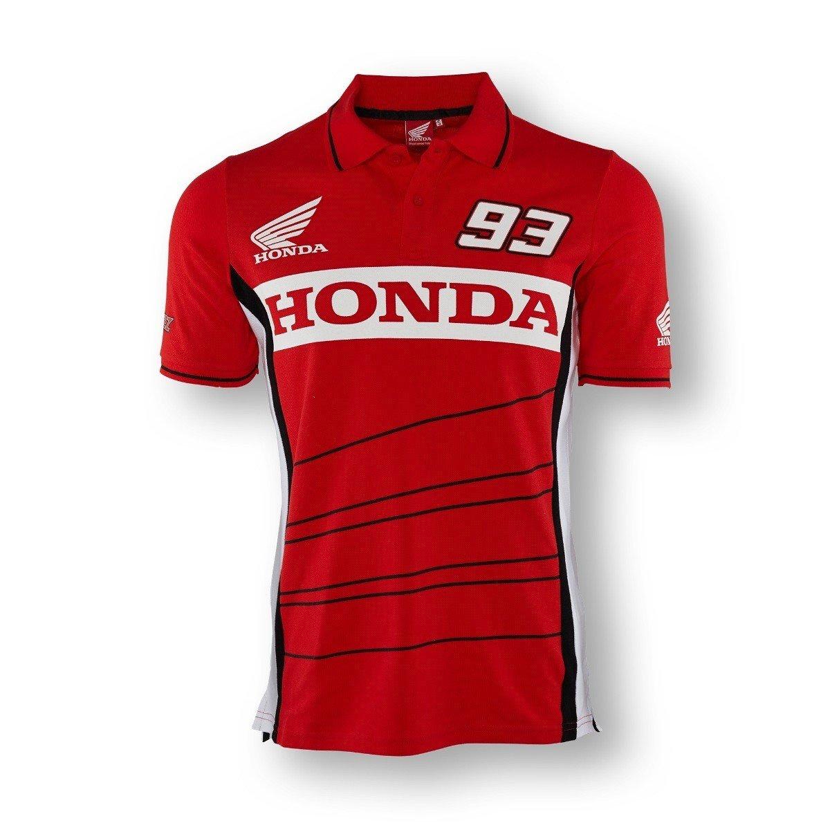 Marc Marquez Honda 93 polo para hombre: Amazon.es: Deportes y aire ...