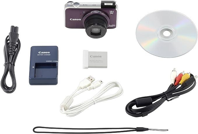 Canon PowerShot SX220 HS - Cámara Digital Compacta 12.1 MP (3 ...