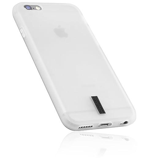 2 opinioni per mumbi Cover per iPhone 6 (4.7 pollici), trasparente, Bianco