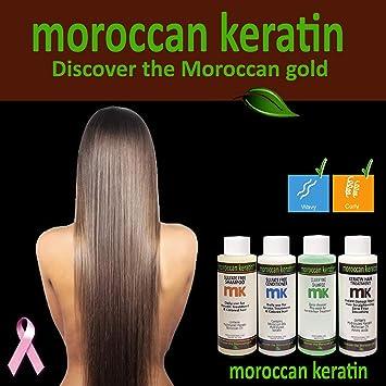 Amazon.com : Moroccan Keratin Most Effective Brazilian Keratin Hair Treatment SET 120ML x4 Professional Salon Formula Shipping Available Worldwide : Hair ...