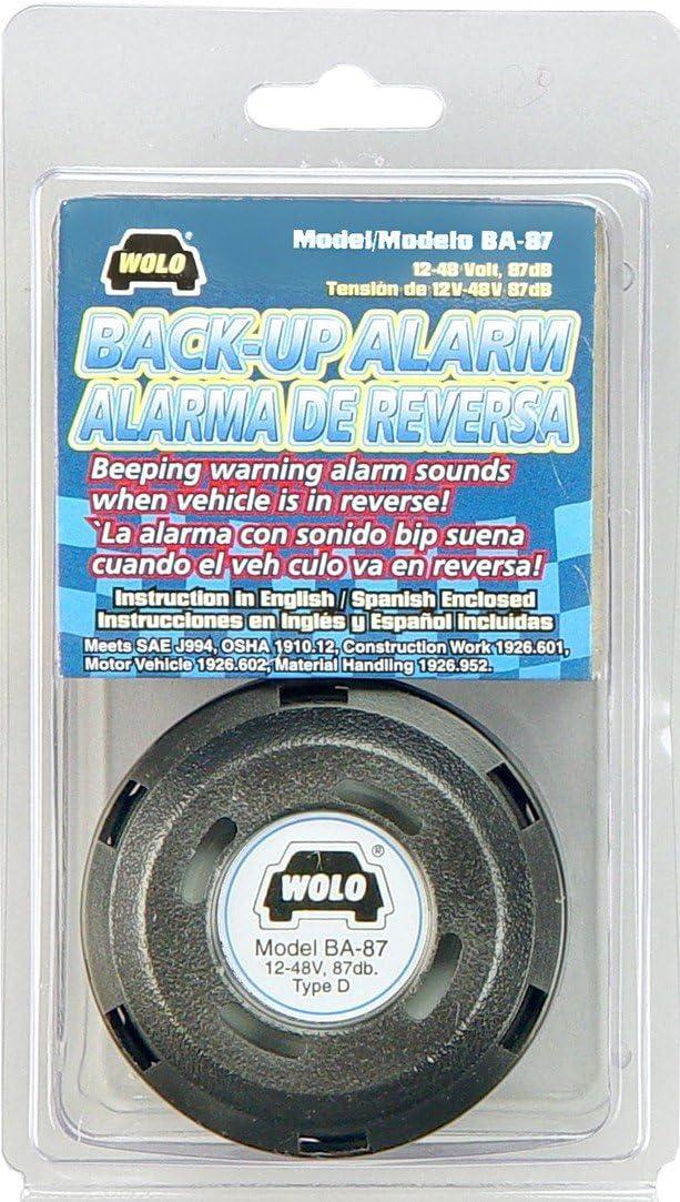 Talking Back-Up Alarm BA-70 Wolo English