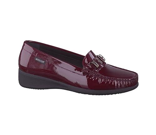 Mephisto - Mocasines de Charol para Mujer Rojo Rojo 37.5: Amazon.es: Zapatos y complementos