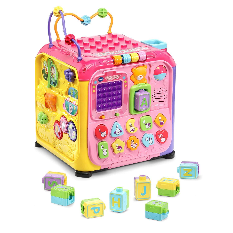 VTech Ultimate Alphabet Activity Cube, Pink