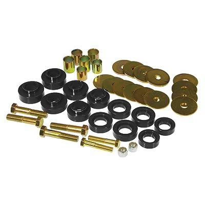 Prothane 7-139-BL Black Body Mount Kit with Hardware: Automotive