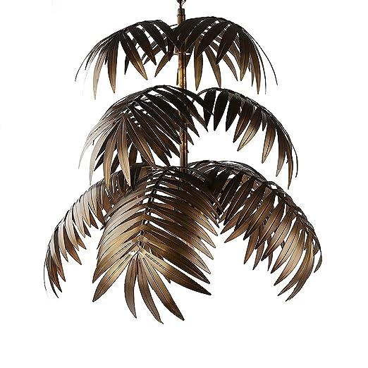 Amazon.com: Lámpara colgante de árbol de coco en forma de ...