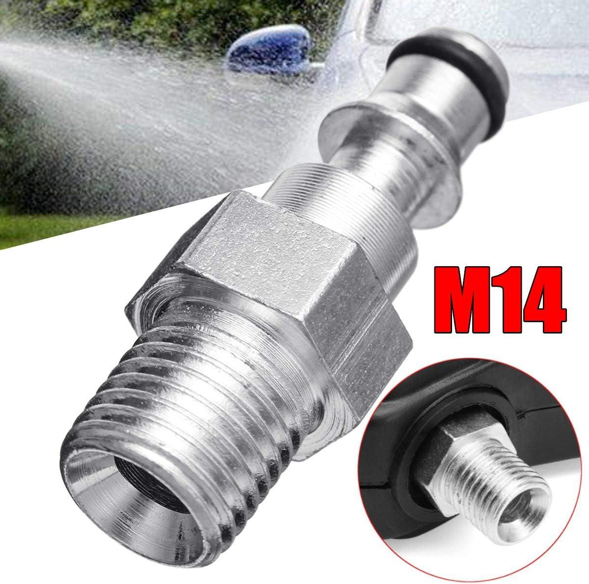 M14 Insert Rapide Encastr/é ACAMPTAR Adaptateur de Tuyau de Raccord Rapide pour Nettoyeur-Pistolet /à Pression pour Lavor Vax